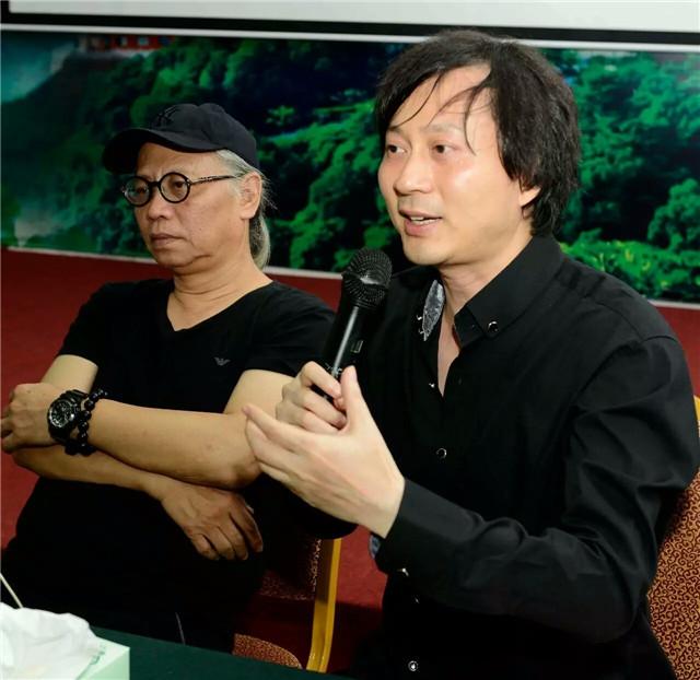 广东省音乐家协会主席,著名作曲家刘长安发言